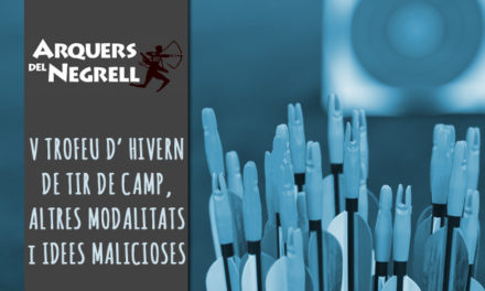 Circular – V TROFEU D' HIVERN DE TIR DE CAMP, ALTRES MODALITATS i IDEES MALICIOSES – CALDES DE MONTBUI (Barcelona), 20/11/2016